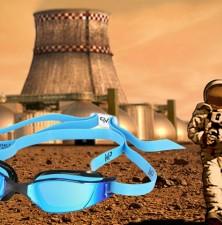 فضانوردان در راه مریخ عینک شنا می زنند